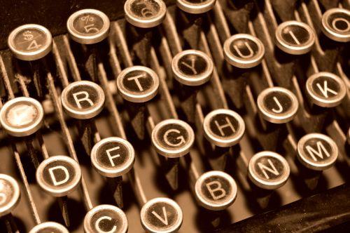Sena rašomoji mašinėlė